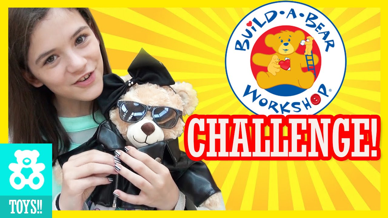 Our First Build A Bear Challenge Kittiesmama Youtube