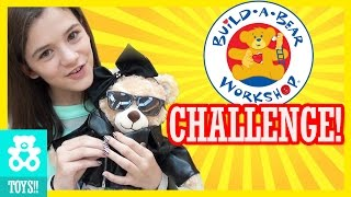 OUR FIRST BUILD A BEAR!  CHALLENGE!  |  KITTIESMAMA
