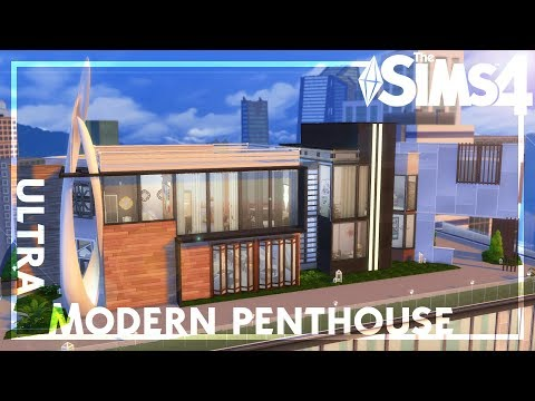 Massive Modern Mansion~ The Sims 4 Speed Build