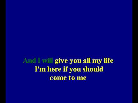 Boyzone Feat Bee Gees - Words (Karaoke)