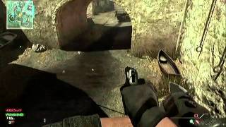 Modern Warfare 3: EPIC Game Winning Random throwing Knife Kill....on Infected