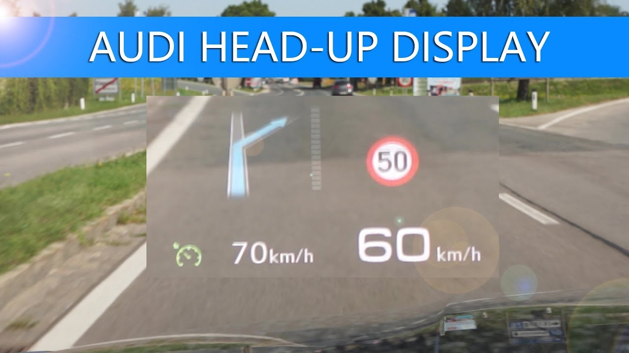 review audi head up display hud hier im s5 sportback. Black Bedroom Furniture Sets. Home Design Ideas