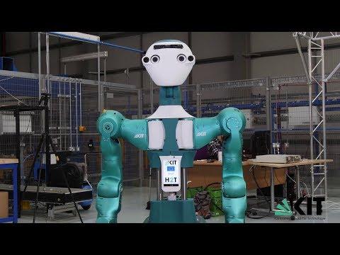 .德國開發仿人機器人上半身 竟然還能預測下一步任務
