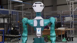 SecondHands project members present first robot prototype ARMAR-6