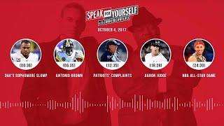 SPEAK FOR YOURSELF Audio Podcast (10.4.17) with Colin Cowherd, Jason Whitlock | SPEAK FOR YOURSELF