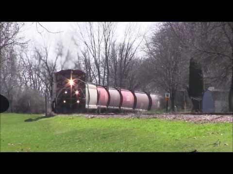 BC rail Switching and Leaving Cedar Rapids,IA