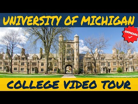 University of Michigan - Official College Video Tour