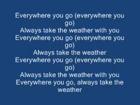 Crowded House - Weather With You Lyrics