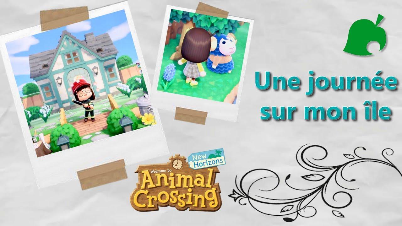 [Jeux vidéo] Une journée sur mon île qui a bien changé -Animal Crossing 🏡🌅-