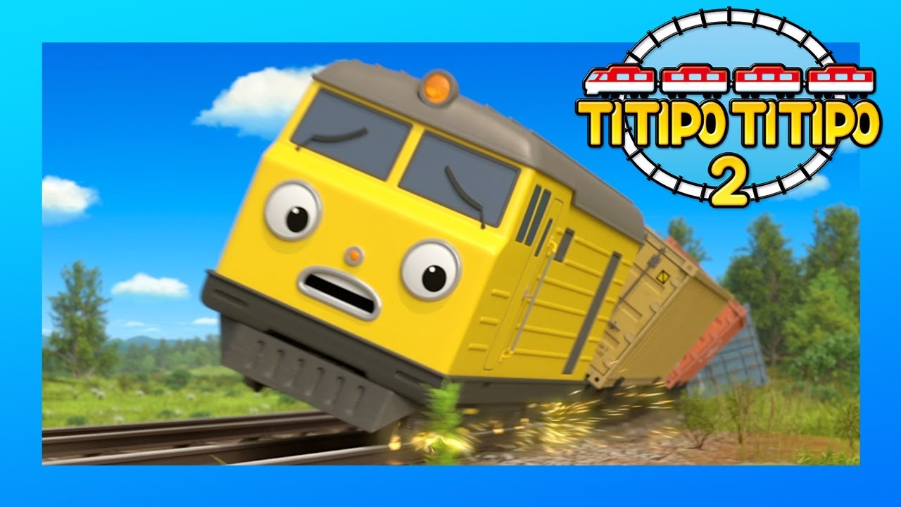 TITIPO S2 Compilation 1-5 l Train Cartoons For Kids | Titipo the Little Train l TITIPO TITIPO 2
