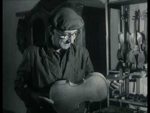 Praise To The Hand – old b/w documentary about violin making