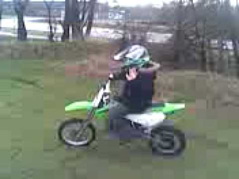 motocross 65cc kawasaki my first dirt bike kx - YouTube