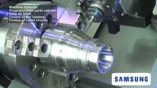 Видео обзор токарного станка с ЧПУ SMEC PL 240LM с фрезерными функциями