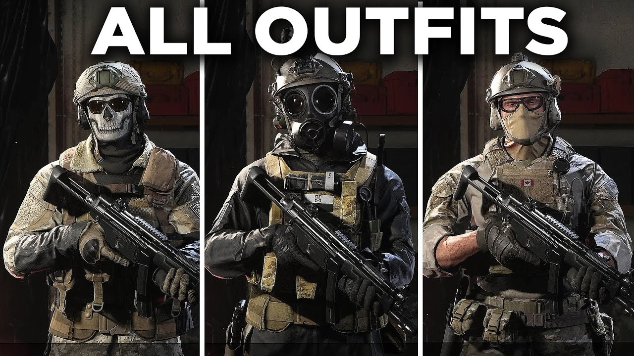 Download All Operator Outfits & Uniforms (UPDATED) - Call of Duty: Modern Warfare