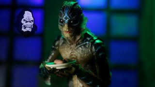 Neca Guillermo Del Toro Signature Collection Shape Of Water Amphibian Man Action Figure Review