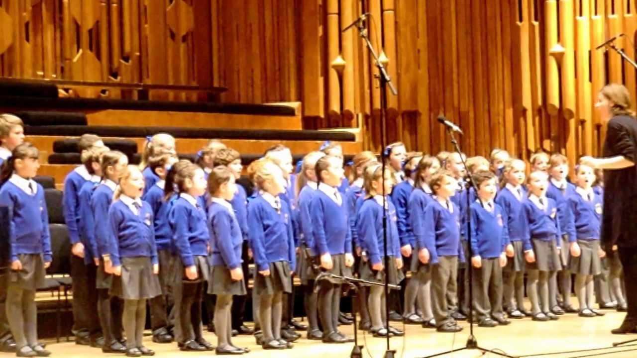 Downton Primary School Choir Barbican Centre Barnardos
