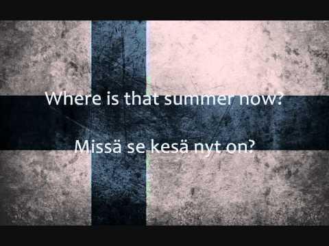 Aknestik - Suomirokkia (Lyrics + English Translation)