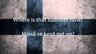 Download Aknestik - Suomirokkia (Lyrics + English Translation) MP3 song and Music Video