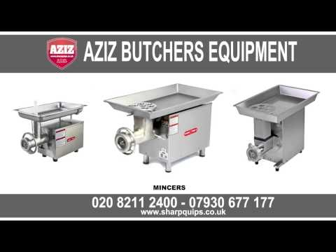 Aziz Butchers Equipment. For All Your Butchers Equipment Needs