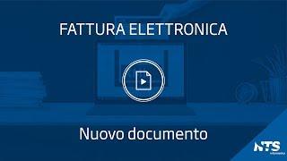 Consolle: principali funzionalità - Nuovo documento