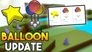 BALLOON UPDATE! (makes your boat FLOAT!) | Build A Boat ROBLOX