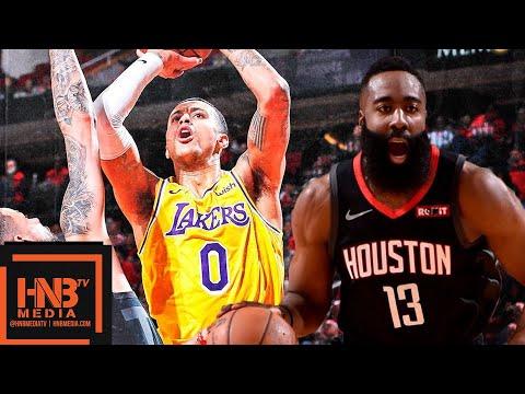 LA Lakers vs Houston Rockets Full Game Highlights | 01/19/2019 NBA Season