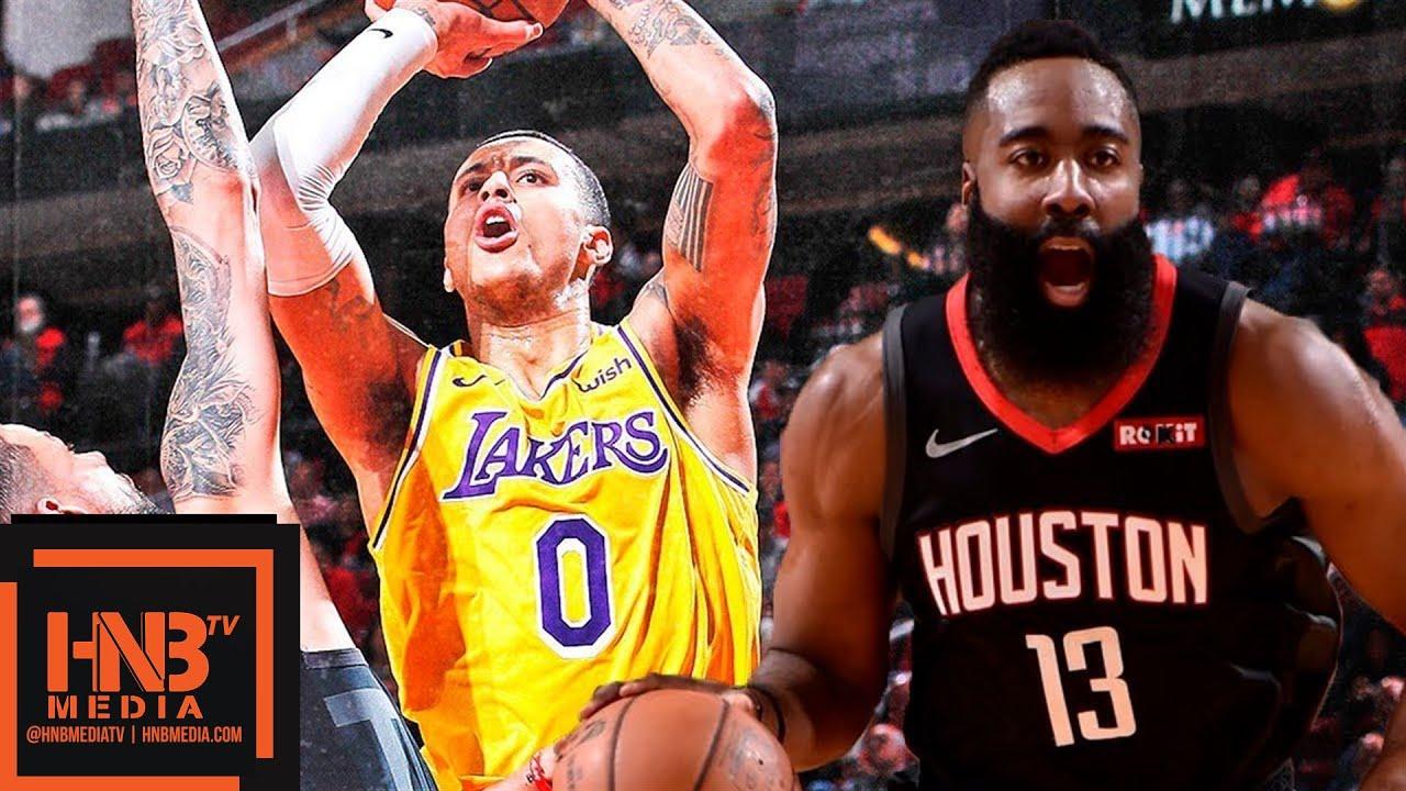 La Lakers Vs Houston Rockets Full Game Highlights 01 19 2019 Nba Season Youtube