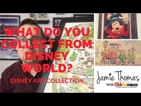 What do you collect from Disney World? Disney Art Collection!
