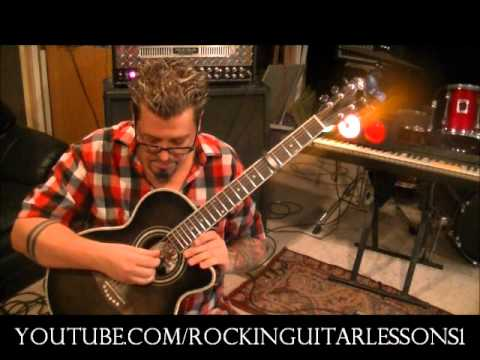 How to play MARRY ME by TRAIN - Guitar Lesson by Mike Gross