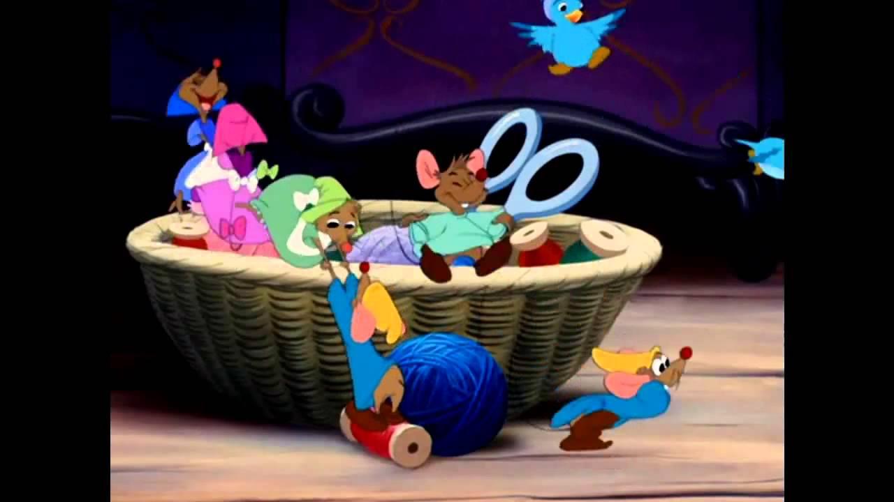 cendrillon les harpies et tendre rve chanson des souris hd - Souris Cendrillon