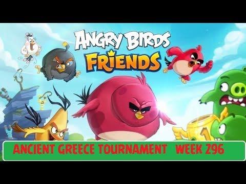 Angry Birds Friends All Levels 1-6 Ancient Greece Tournament Tournament Week 296 Jan 18 2018