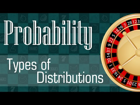 Probability: Types of Distributions