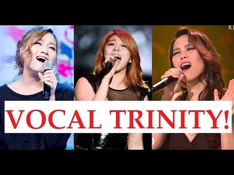 Korean Vocal Trinity! Sohyang (소향) Ailee (에일리) Son seung Yeon (손승연)