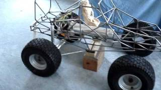 1/4 Scale Grave Digger Part 2 with Conley V8