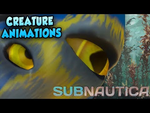 Subnautica Arctic | First Creature Animations REVEALED + 2 NEW Biomes CONFIRMED!