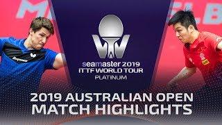 Fan Zhendong vs Kristian Karlsson | 2019 ITTF Australian Open Highlights (R32)