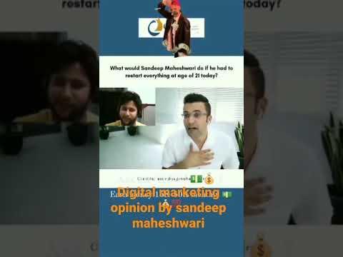 Digital marketing opinion by sandeep maheshwari✍️✍️🧠🗣️
