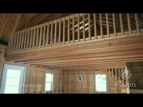 Weaver Barns Cabin - YouTube