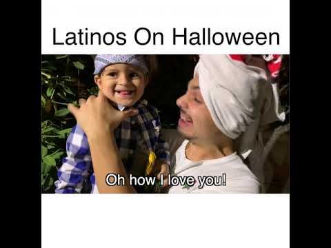 Latinos On Halloween | MrChuy