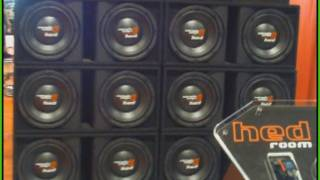 SPIDERMAN Stereo System w/ Cerwin Vega HED Wall Of Subs @ Spring Break Nationals 2011 Daytona Beach