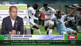 Le coach de Monaco critique les ramasseurs de balle d'Amiens-Monaco