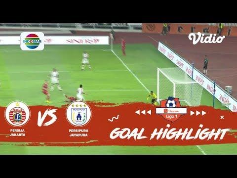 Highlight Persija Jakarta vs Persipura Jayapura | Kemenangan Macan Kemayoran