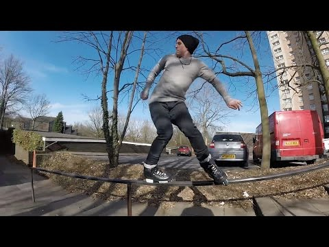 SCARY ROLLERBLADING FAIL!