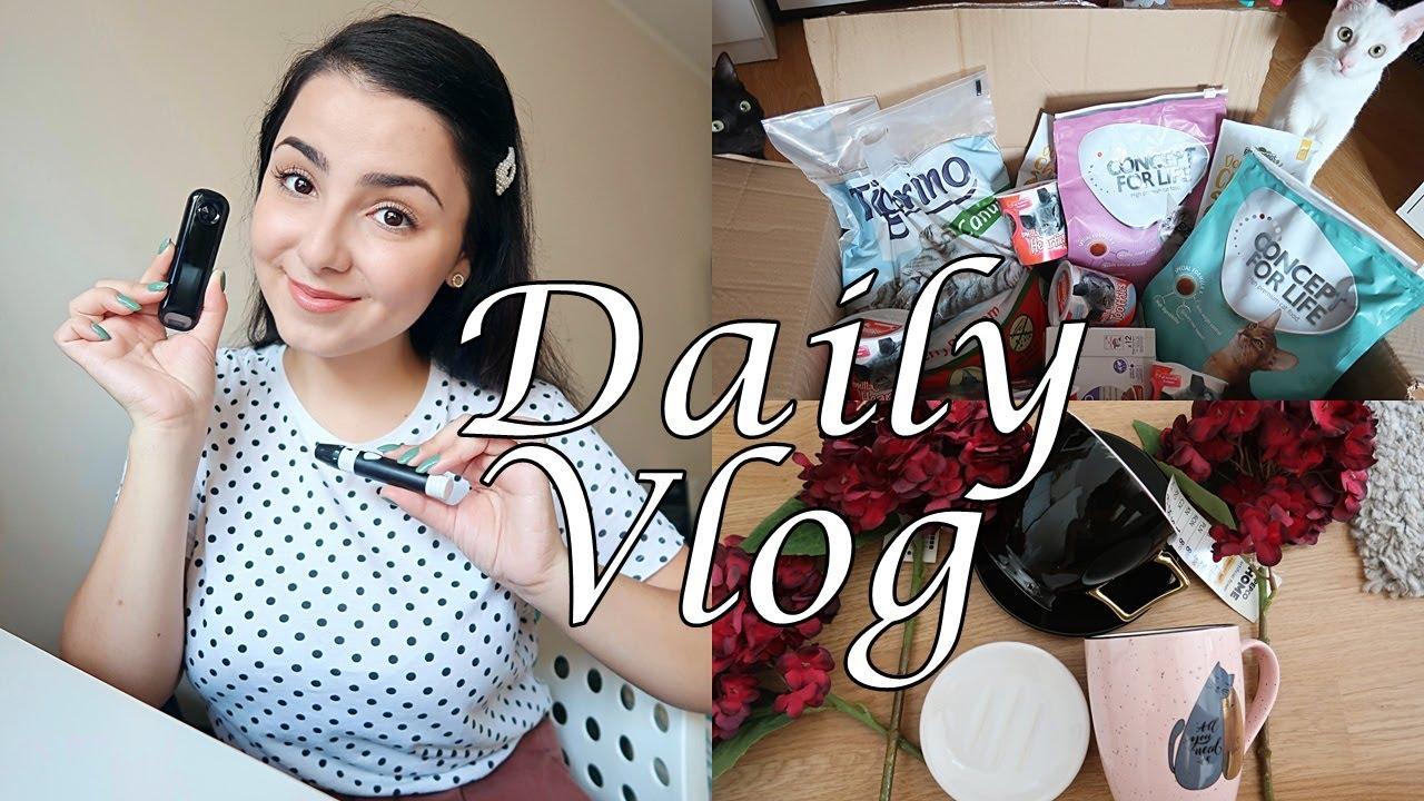 Daily Vlog | Aparat nou de glicemie, mini haul Pepco, gătim tradițional, comandă pentru pisici