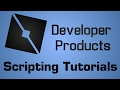 Roblox Developer Product Tutorial - Marketplace Service