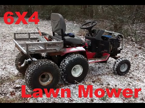 6x4 Off Road Lawn Mower