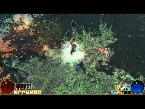 Path of Exile - August 2nd 2011 Gameplay Clip - Templar