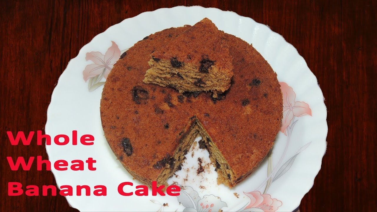 How To Make Whole Wheat Cake In Cooker