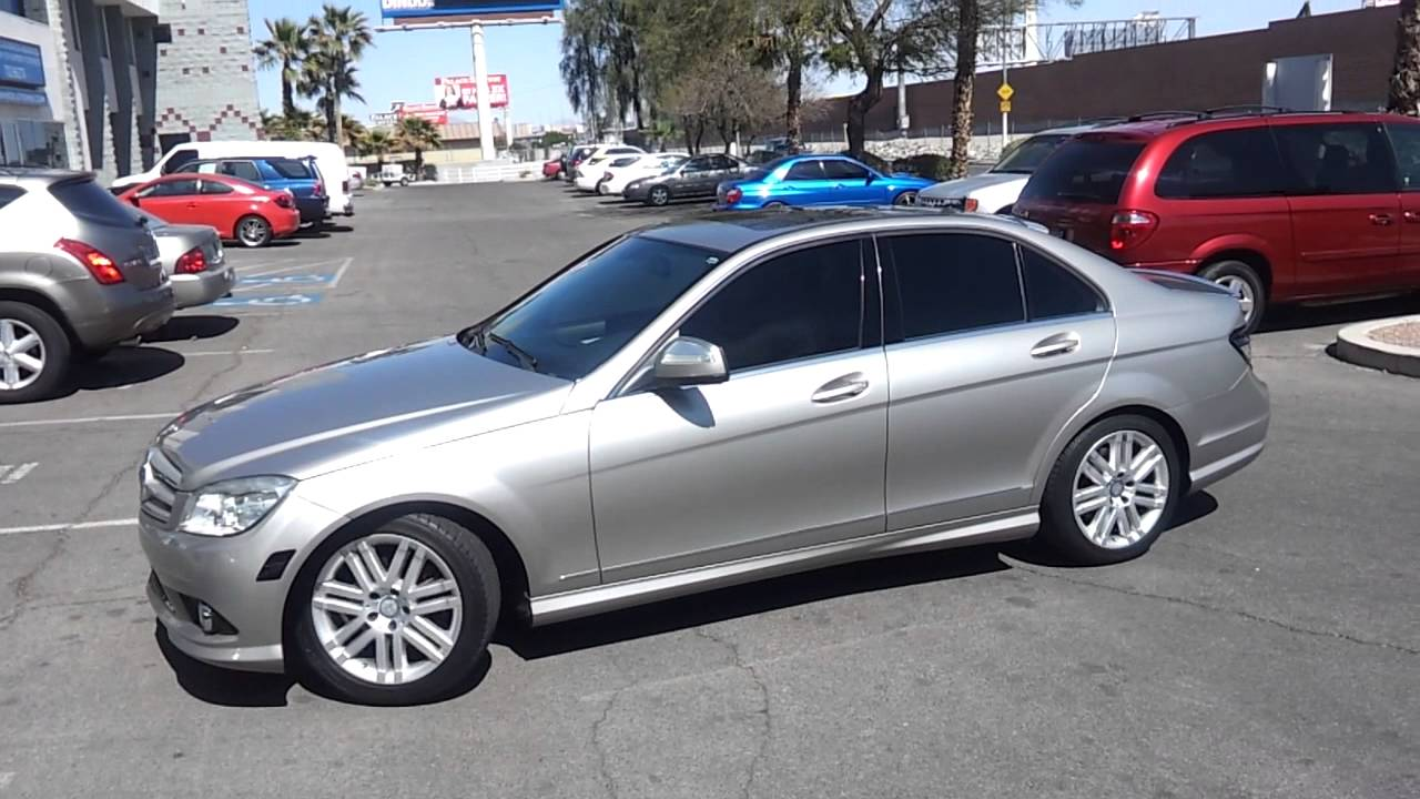 medium resolution of 2008 mercedes benz c300 sport