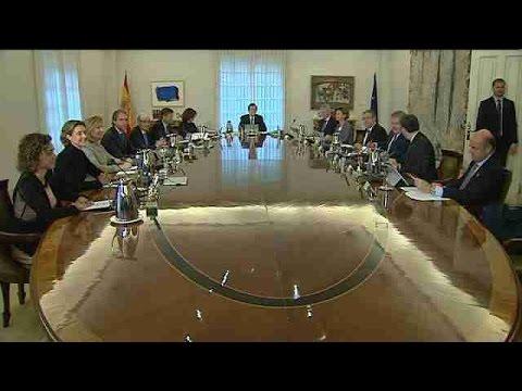 Primer Consejo de Ministros del nuevo Gobierno
